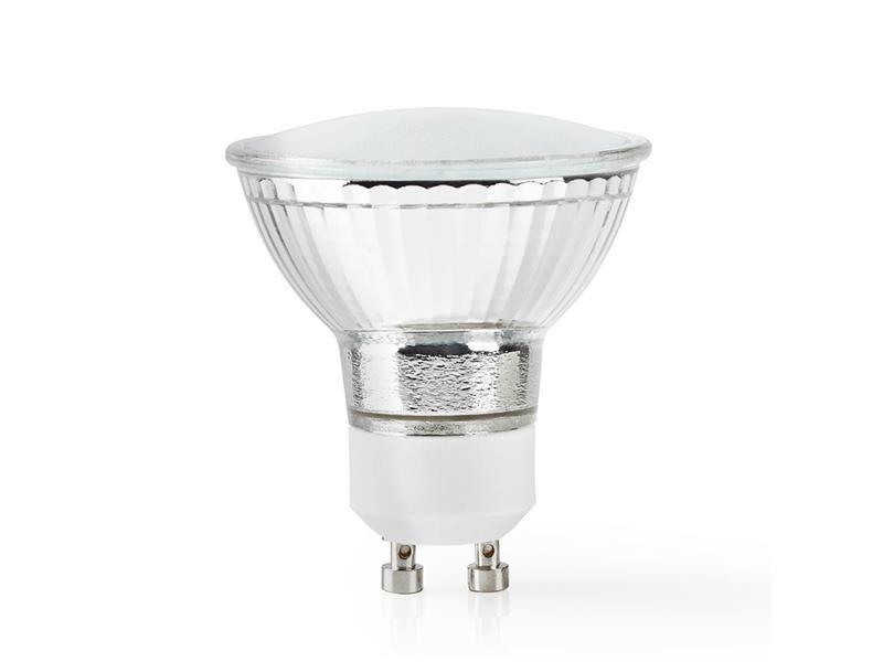 Chytrá WiFi žárovka LED GU10 4.5W teplá bílá NEDIS WIFILW11CRGU10 SMARTLIFE