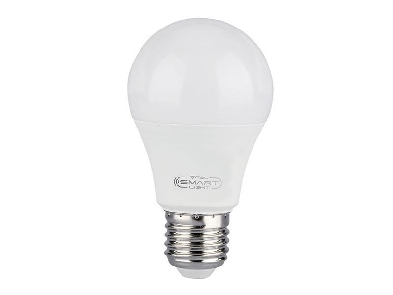 Chytrá WIFI žárovka LED E27 10W V-TAC RGB 3v1 VT-5119