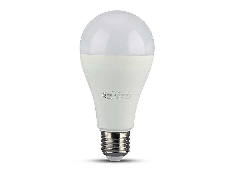 Chytrá WiFi žárovka LED E27 15W RGB 3v1 V-TAC VT-5117