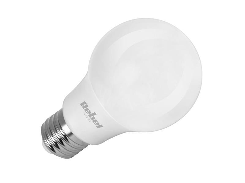 Žárovka LED E27  9W A60 bílá studená REBEL ZAR0488