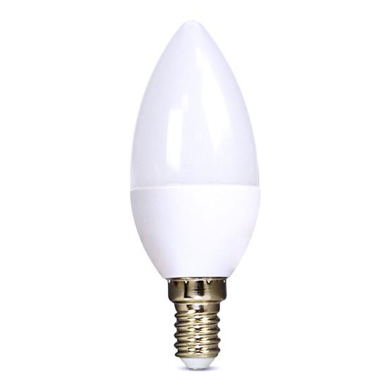 Žárovka LED E14  6W bílá studená SOLIGHT WZ421-1