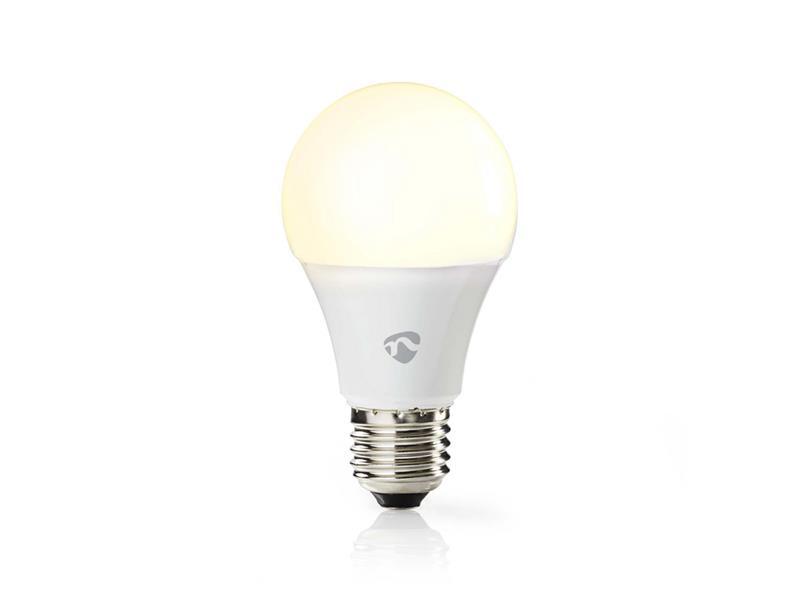 Smart žárovka LED E27 9W teplá bílá NEDIS WIFILW12WTE27 WiFi SmartLife