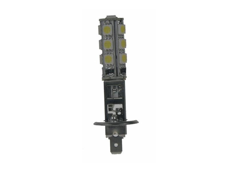LED žárovka 12V, H1, 13LED/3SMD