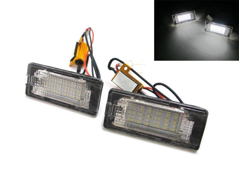 LED osvětlení SPZ AUDI / SEAT / ŠKODA / VW