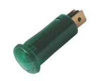 Kontrolka kulatá 12V DC zelená TIPA
