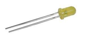 LED  5mm  žlutá  difuzní