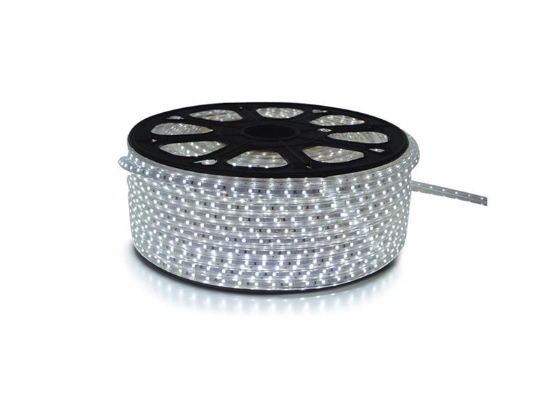 TIPA LED pásek 230V, 5050 60LED/m IP67 max. 14.4W/m bílá studená (cívka 50m) zalitý