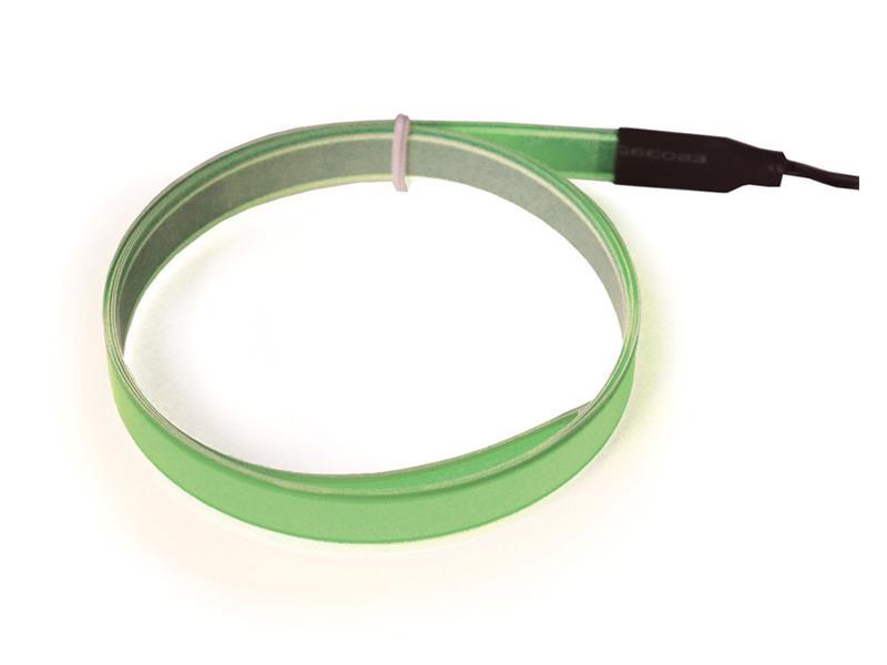 Svítící pásek, 1m, zelený