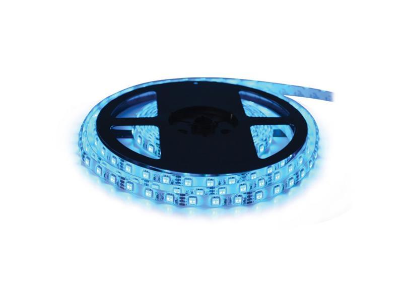 LED pásek 12V 3528  60LED/m IP68 max. 4.8W/m modrá (cívka 5m) voděodolný