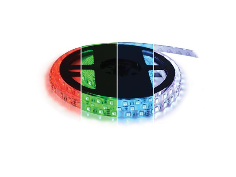 TIPA LED pásek 12V 5050 60LED/m IP67 max. 14.4W/m RGBW bílá studená 5 m zalitý