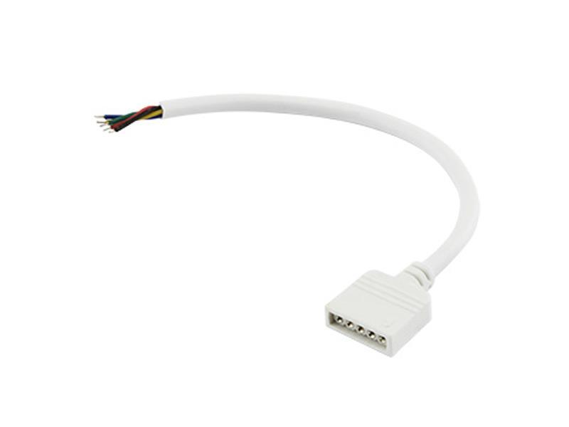 Napájecí kabel pro RGBW s konektorem, zásuvka, délka 100cm