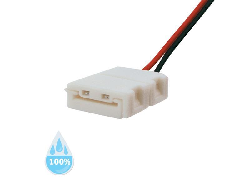 Konektor nepájivý pro LED pásky 5050 30,60LED/m o šířce 10mm s vodičem, voděodolný IP68