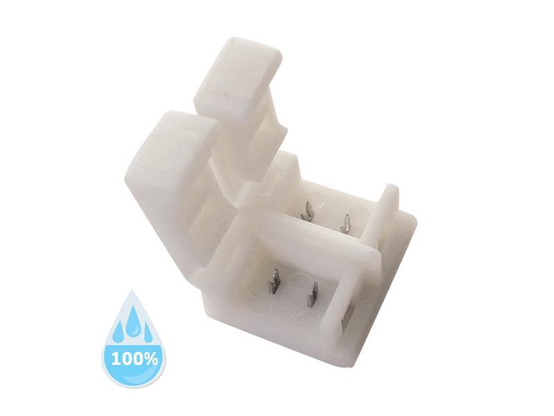 Spojka nepájivá pro LED pásky 5050, 5630 30,60LED/m o šířce 10mm, voděodolný IP68