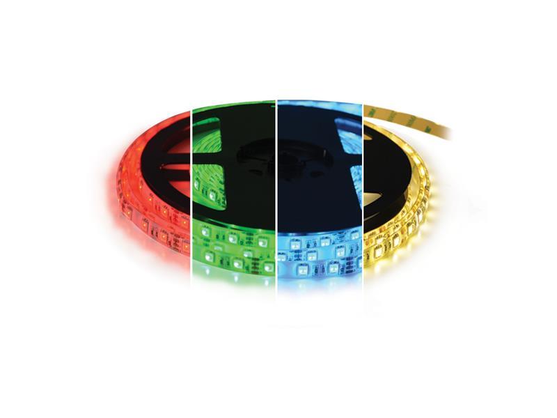 TIPA LED pásek 12V 5050 60LED/m IP67 max. 14.4W/m RGBW bílá teplá 5 m zalitý