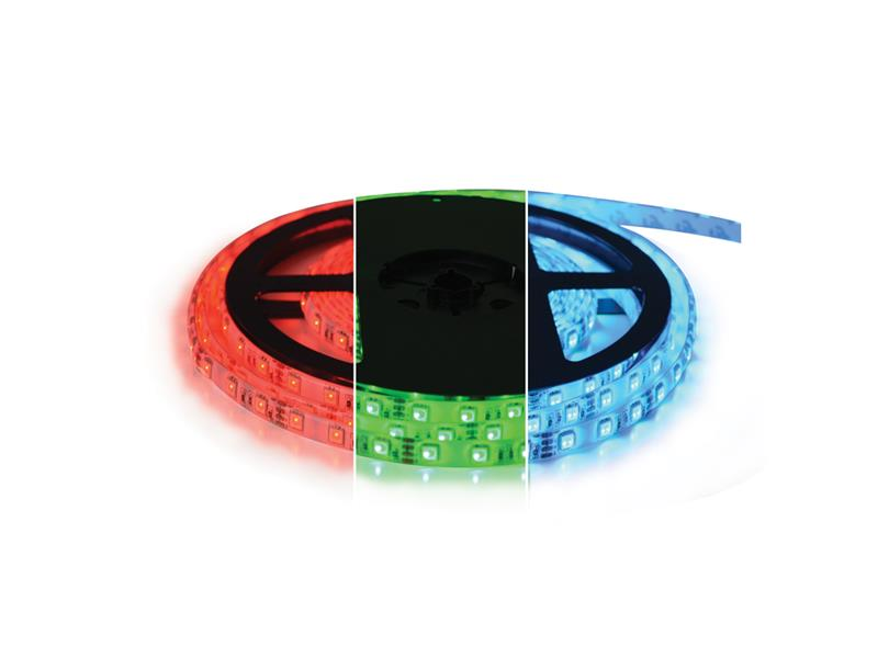 TIPA LED pásek 12V 5050 60LED/m IP20 max. 12W/m RGB, magnetický 5 m