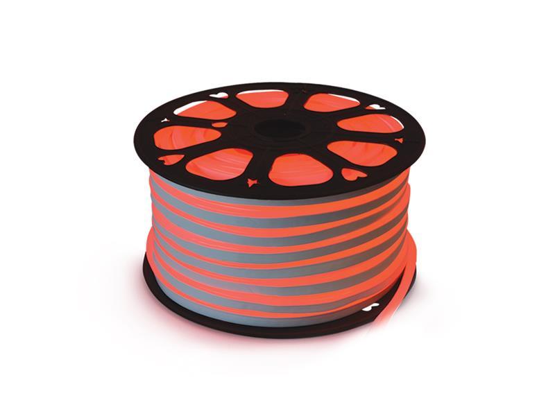 LED neon flexi hadice 230V 92LED/m 7W/m červená 50m