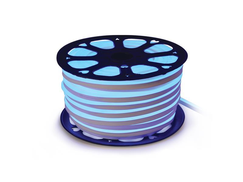 LED neon flexi hadice 230V 120LED/m 12W/m modrá (50m)