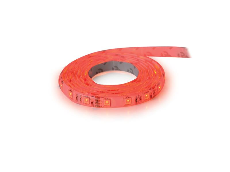 LED pásek 12V 3528  60LED/m IP20 max. 4.8W/m červená (cívka 1m)
