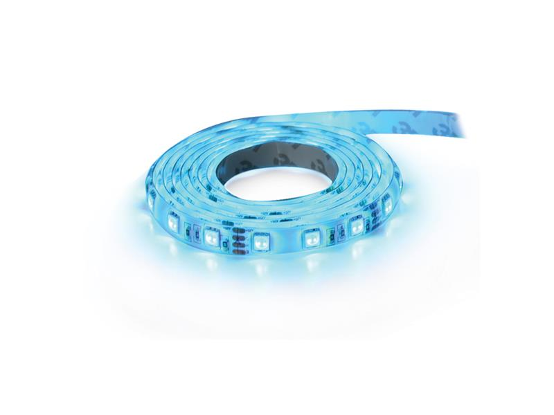 LED pásek 12V 5050  60LED/m IP65 max. 14.4W/m modrá (cívka 1m) zalitý