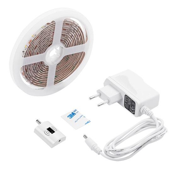 LED pásek stmívatelný s bezdotykovým ovládáním, 3m, 180 LED, 4000K, IP65, Solight WM50S