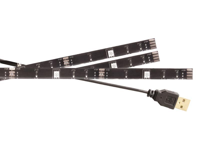 LED pásek USB RGB KÖNIG KNM-ML3RGBD