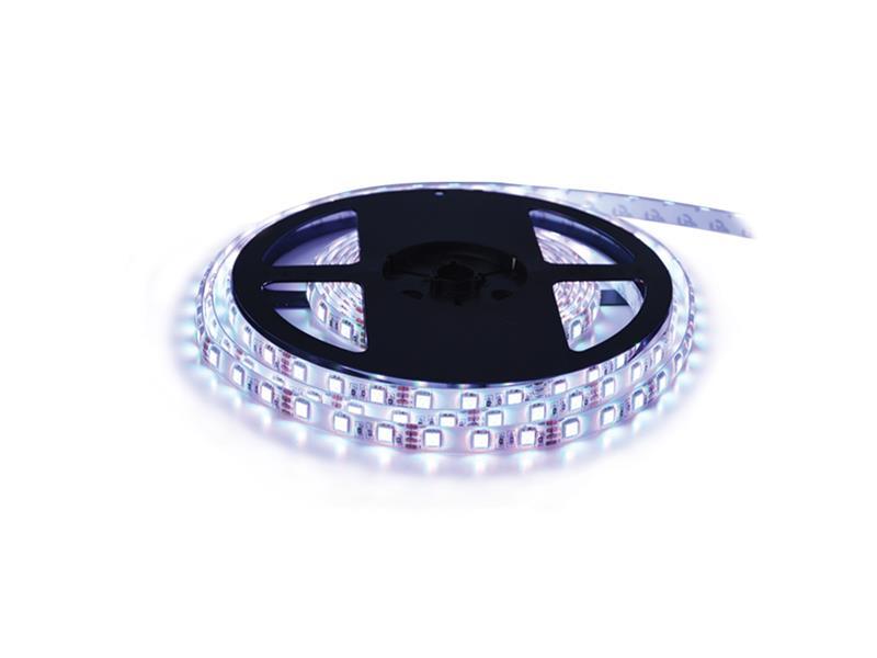 LED pásek 12V 3528 120LED/m IP65 max. 9.6W/m bílá studená (cívka 5m) Geti