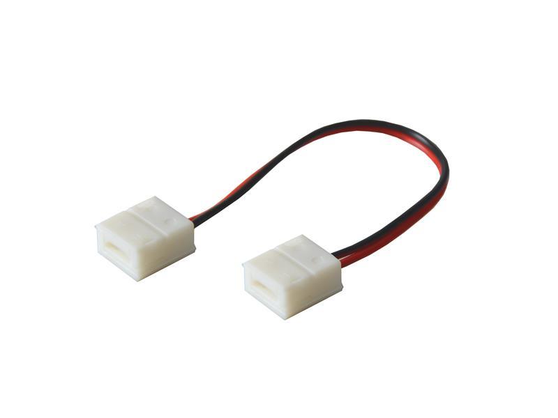 Spojka nepájivá s vodičem pro LED pásky o šířce 8mm 3528, 2835 IP65