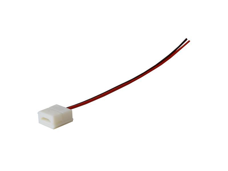 Konektor nepájivý s vodičem pro LED pásky o šířce 10mm 5050 IP65