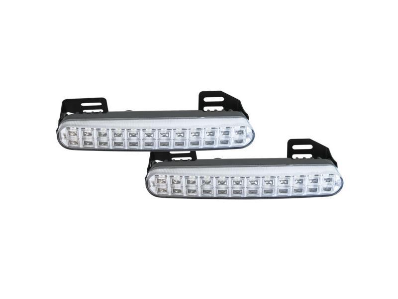 LED Světla pro denní svícení DRL048,homologace