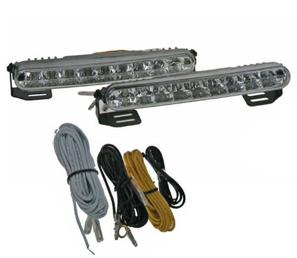 Světla pro automatické denní svícení, LED