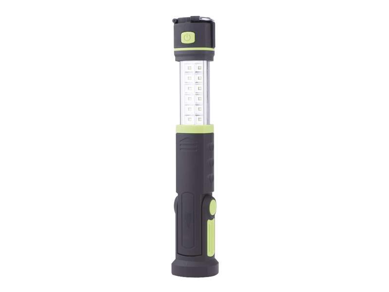 Nabíjecí svítilna LED E704, 12 SMD + 6 LED