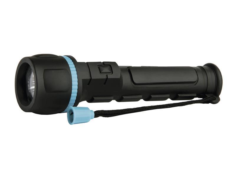 Svítilna LED ( 3x) plast-guma (2xAA) nárazuv. EMOS