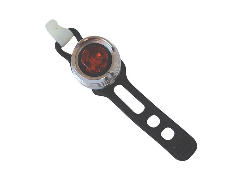 TIPA Svítilna na kolo zadní, 1 LED, bílá