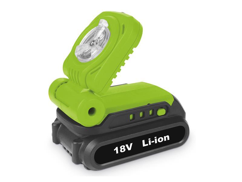 LED svítilna FIELDMANN FDUL 50901 AKU