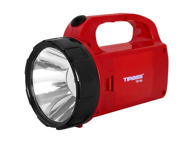 Svítilna montážní TIROSS TS-1184, 1+12 LED, 3x AA
