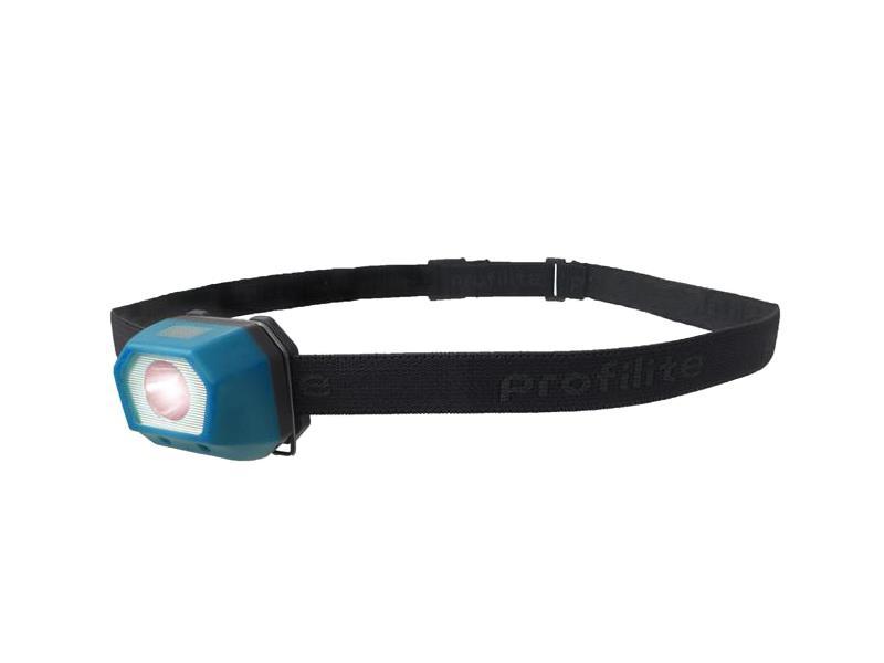Svítilna  čelovka LED 3W, nabíjecí, Bean Blue