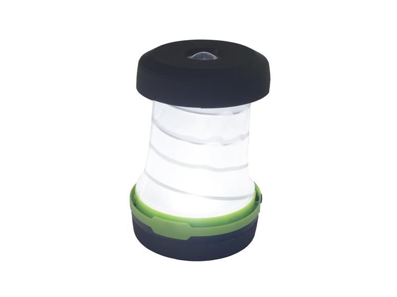 Svítilna LED kempingová s pružinou, modrá