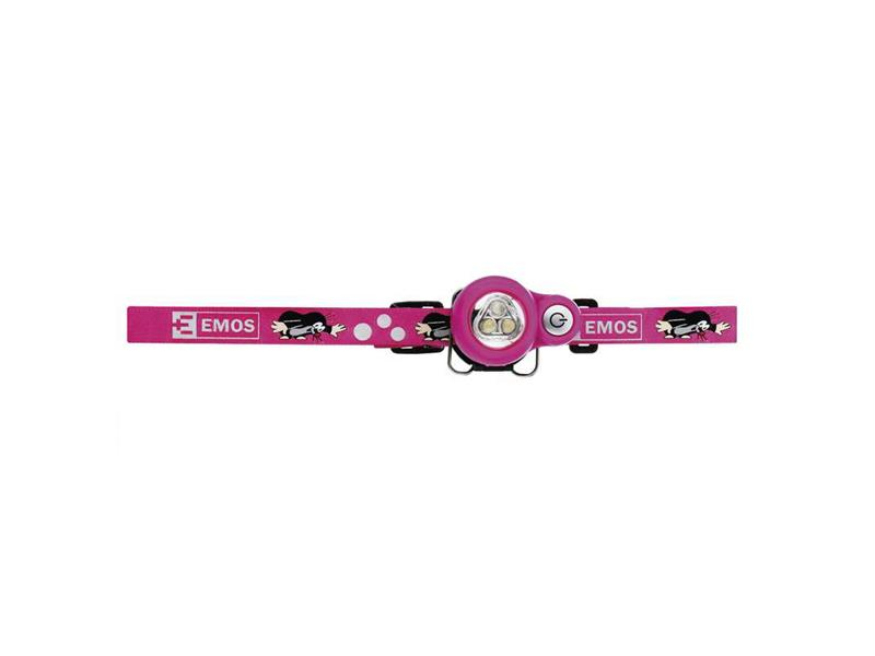 Headlamp EMOS P3529 children pink