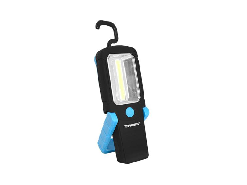 Svítilna ruční TIROSS TS-1837 1 COB, 3x AAA modrá