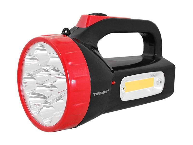 Svítilna montážní TIROSS TS-1870, 12 LED, 1500 mAh, nabíjecí