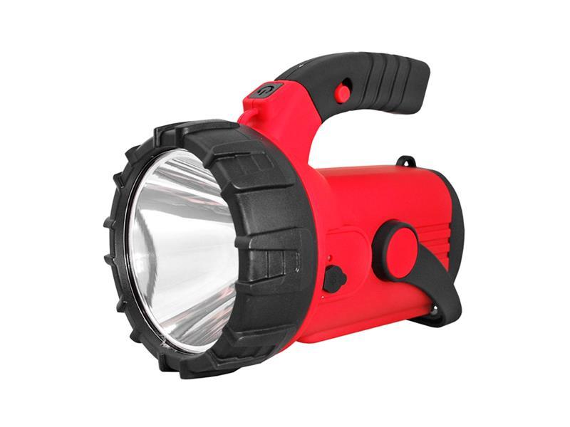 Svítilna montážní TIROSS TS-1872, 1+1 LED, 2000 mAh, nabíjecí červená
