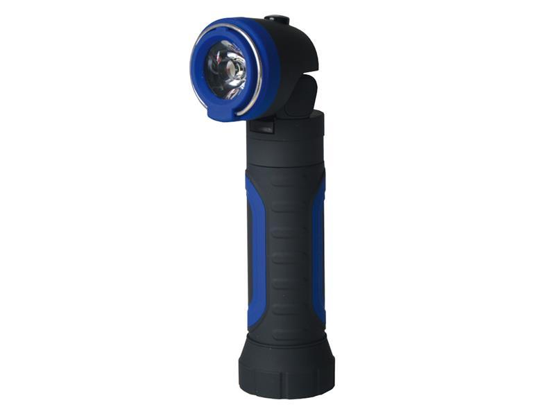 Svítilna ruční TIROSS TS-1109 2W, 4x AAA s magnetem modrá