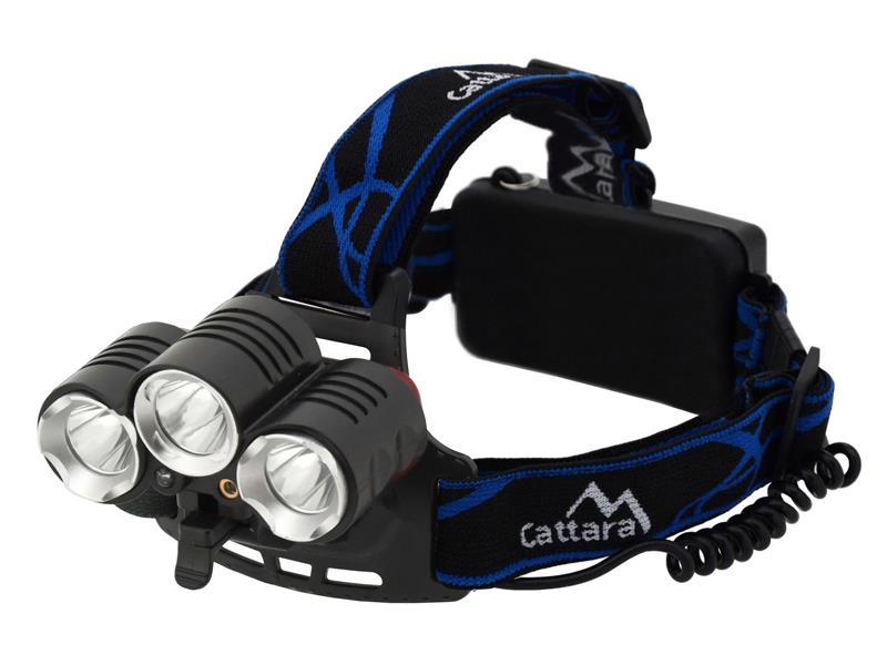 Svítilna čelovka LED 400lm (1x XM-L+2x XP-E)