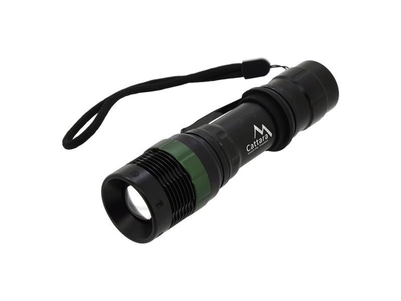 Svítilna CATTARA kapesní LED 150lm ZOOM 3 funkce