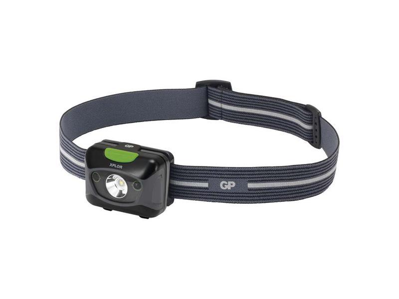 Čelovka GP PHR15 na 3x AAA, 1x CREE LED 5W s USB nabíjením