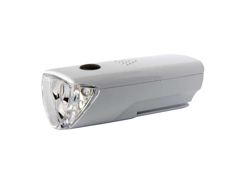 Svítilna na kolo 3x LED, na 3x AAA, přední