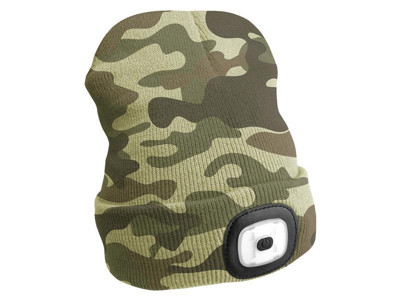 Čepice s čelovkou SIXTOL SX5019 nabíjecí