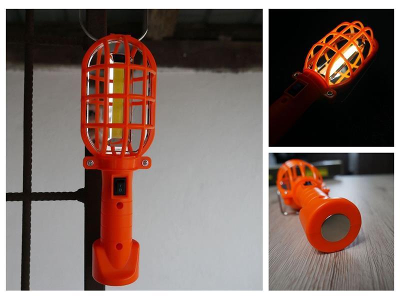 Svítilna 4L oranžová