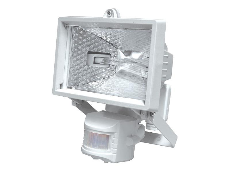 EMOS Reflektor 150W s PIR senzorem bílý