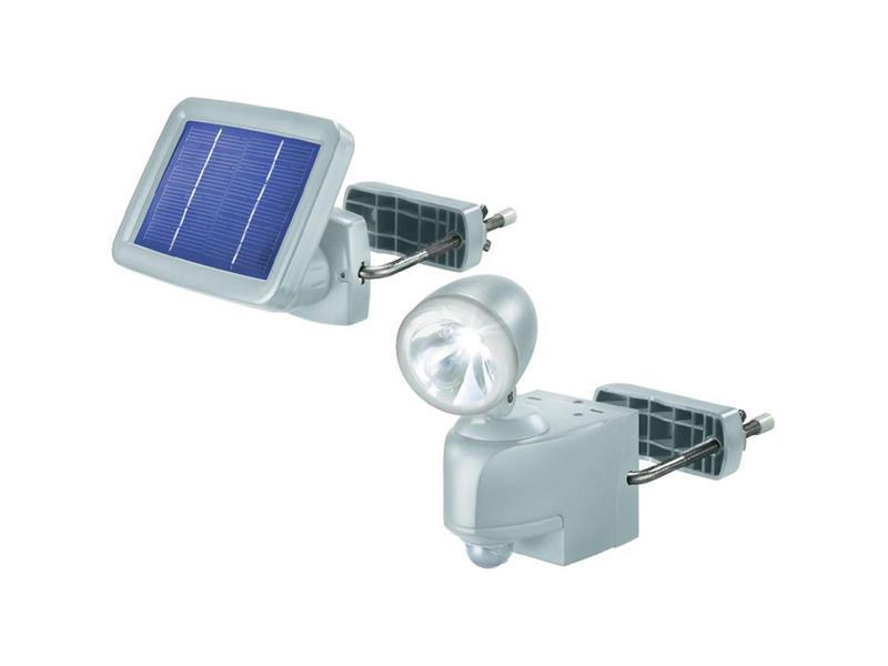 CONRAD Solární LED svítidlo s detektorem pohybu Esotec, šedá T571801